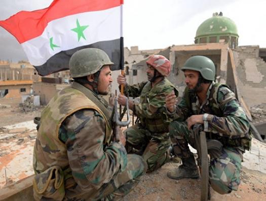 Войска Асада вошли в «курдский Сталинград»