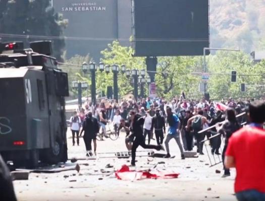 … И беспорядки в Чили