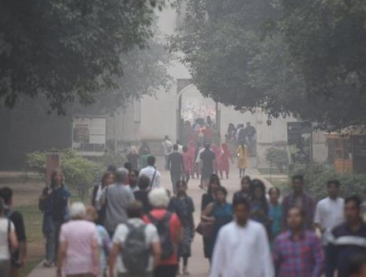 Индия задыхается