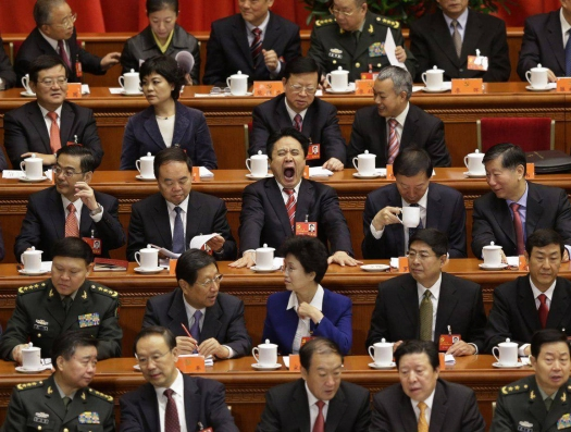Пленумом ЦК по протестам