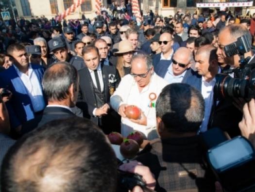 Фархад Ахмедов устроил в Гейчае настоящий праздник