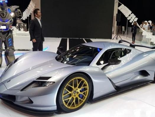 Японцы представили самый мощный в мире автомобиль
