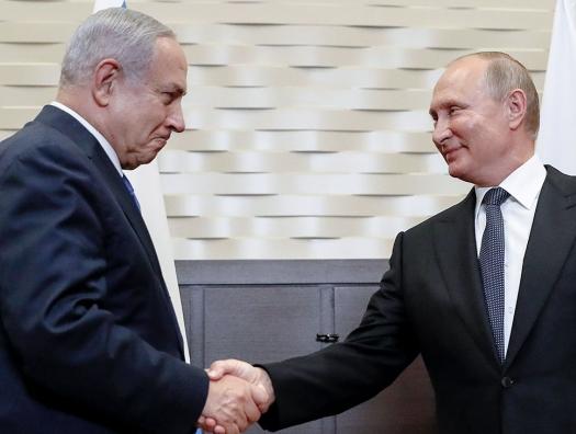 Bloomberg: Путин не желает делать «подарок» Нетаньяху