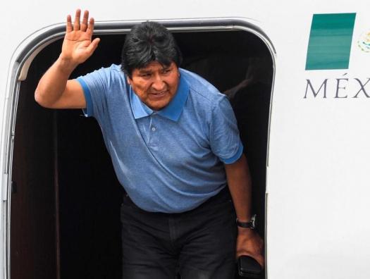 Эво Моралес: «Президент Мексики спас мне жизнь»