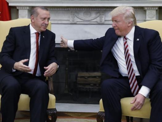 Эрдоган и Трамп: встреча с претензиями