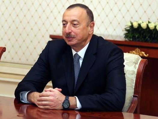 Ильхам Алиев: «В Народном Фронте собрались отбросы общества»