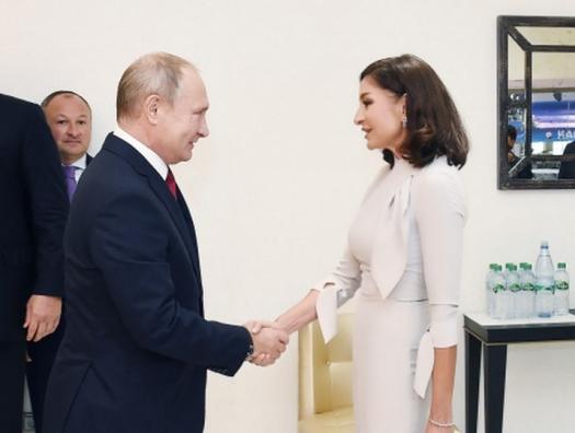 Мехрибан Алиева проведет переговоры с Путиным