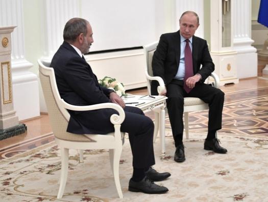 В Кремле выставят счет Пашиняну