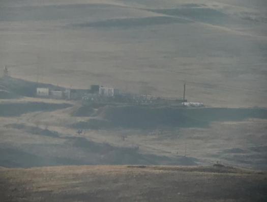 Фотокорреспондент haqqin.az с передовой: «Газопровод в Армении в зоне огневого поражения погранвойск Азербайджана»