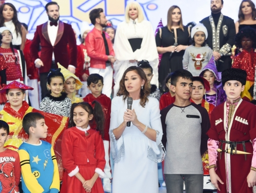 Фонд Гейдара Алиева устроил праздник для детей
