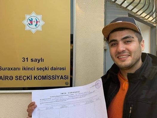 ЦИК пересмотрел итоги голосования в округе Мехмана Гусейнова
