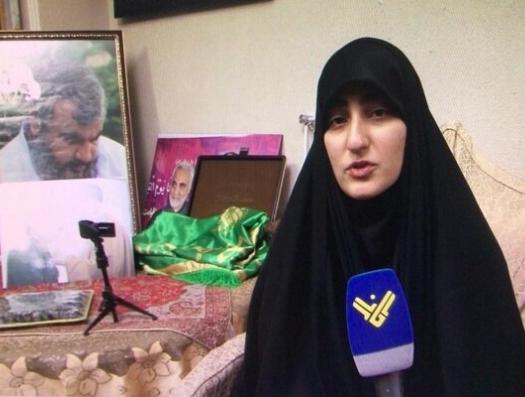 Дочь Касема Сулеймани: «Хизбалла» отомстит за моего отца»
