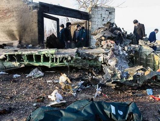 Гибель украинского пассажирского самолета: странное время, странное место