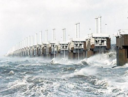 Голландия уходит под море