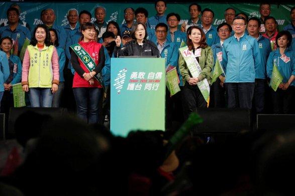НаТайване переизбрали президента, которая выступает занезависимость острова