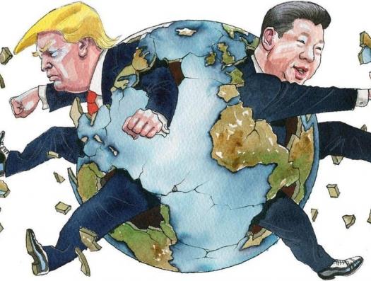 Трамп схватил и Китай за хвост