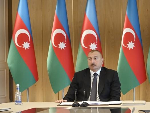 Ильхам Алиев, обращаясь к Эльману Рустамову: «Это может стать очень опасной тенденцией»