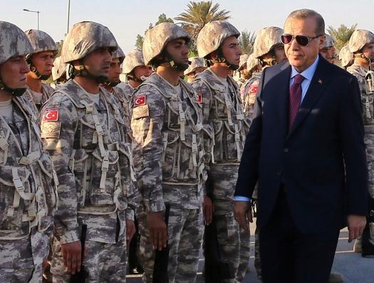 Эрдоган выдвигает в Ливию войска