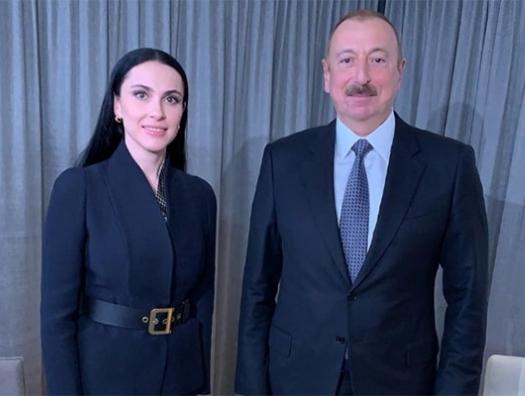 """Наиля Аскерзаде: """"Как всегда начинаю Давос с Ильхама Алиева!"""""""