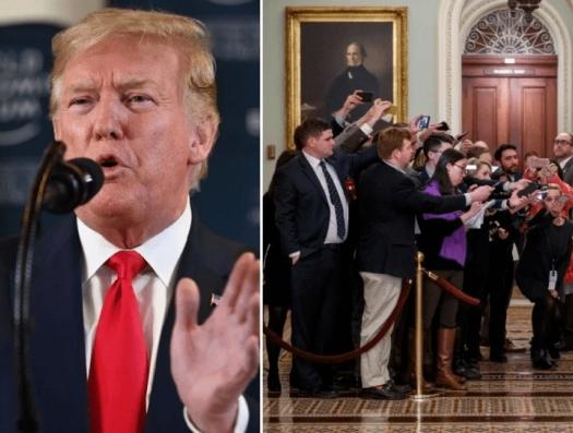 Трампа судят свои