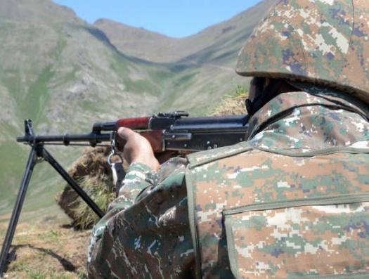 Азербайджанские солдаты прошли в Армению за останками азербайджанского солдата