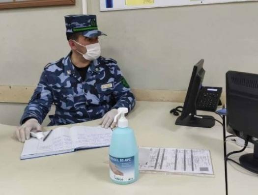 Таможня в Астаре - не преграда для коронавируса