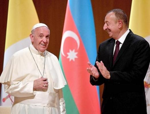 Что Ильхам Алиев подарил Папе Римскому
