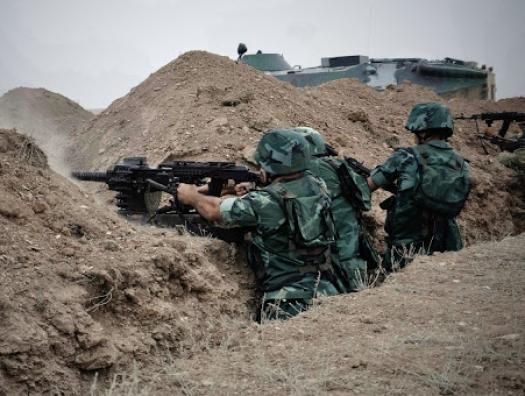 Бои на азербайджано-армянской границе: погиб пограничник