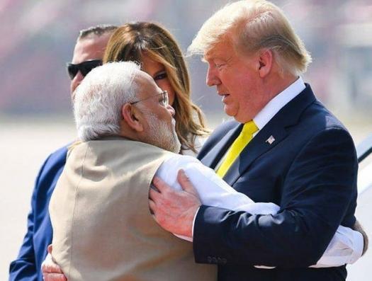Трамп уговаривает Индию дружить против Китая