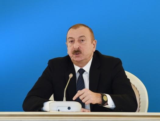 Ильхам Алиев европейским министрам: «Этот коррупционный режим начал войну среди азербайджанцев»