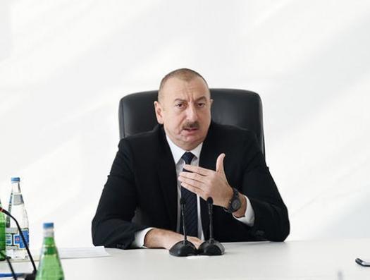 """Ильхам Алиев: """"Некоторые негодяи главы районов опозорили и себя, и наше правительство"""""""