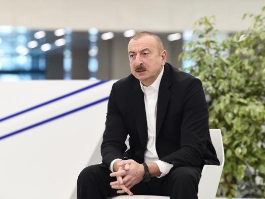 Ильхам Алиев: «Никто не знает, сколько это продлится»