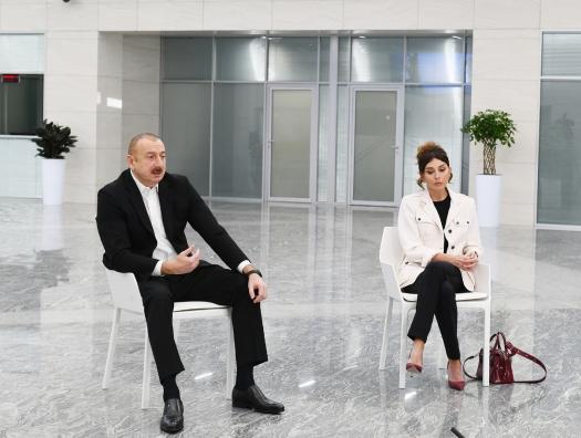 Ильхам Алиев: «Абсолютно неприемлемо думать - «я не боюсь, со мной ничего не случится»