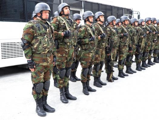 К патрулированию в Баку привлекли внутренние войска