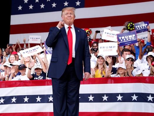 И Трамп может отменить выборы. США останутся без президента?