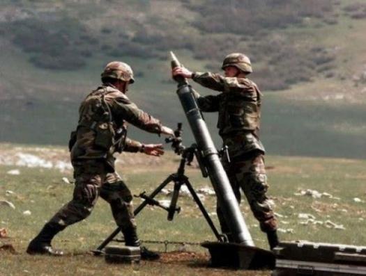 В Карабахе началась миномётная война