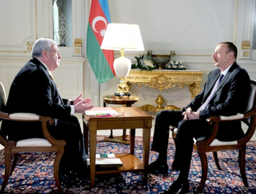 """Интересная беседа Ильхама Алиева с Михаилом Гусманом: """"Все еще раз поняли, что перед Богом все равны"""""""