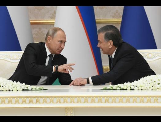 И Узбекистан выбрал Россию