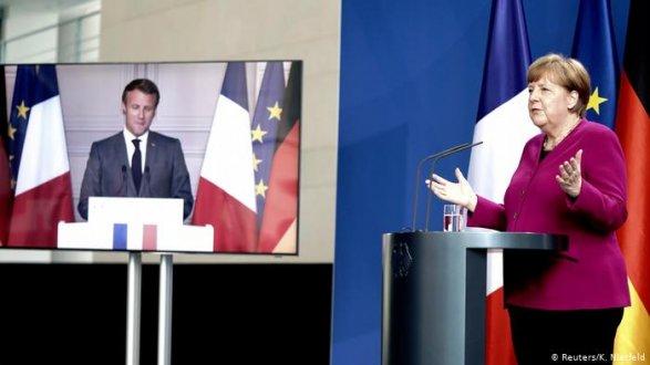 Меркель иМакрон посоветовали  план спасенияЕС