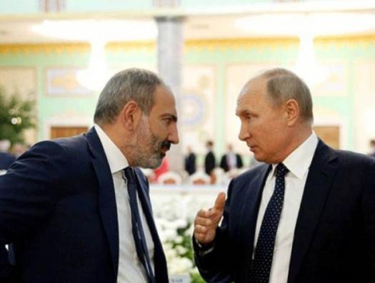 Путин одернул Пашиняна на саммите ЕАЭС