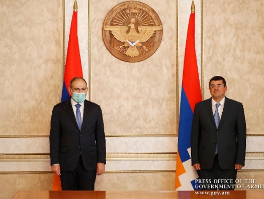 Новый лидер сепаратистов и Пашинян обсуждают интеграцию Карабаха с Арменией