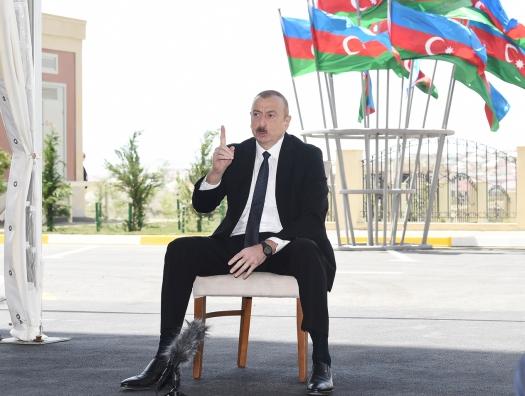 Ильхам Алиев еще раз предупредил Армению: «В мире фактор силы выходит на первый план»