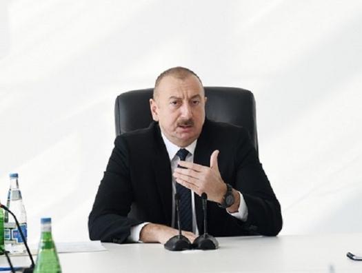 Ильхам Алиев: «Наш древний город Иреван отдали Армении. Это нельзя простить»