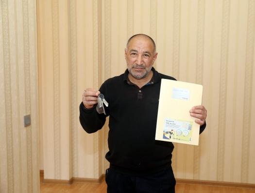 Семьям шехидов и инвалидам Карабахской войны предоставлены 100 квартир и 50 автомобилей