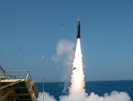 Израиль показал, как могут полететь азербайджанские ракеты