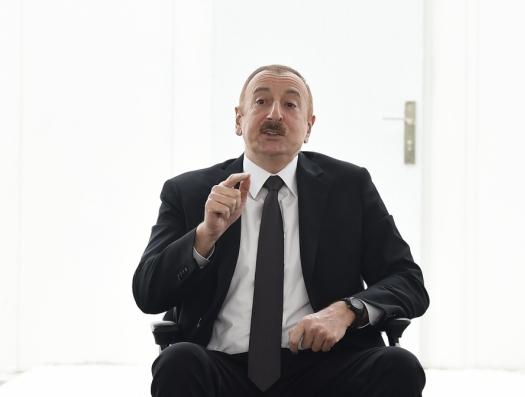 Ильхам Алиев: «Мы видели, что если так пойдёт дальше, наша система здравоохранения с этим не справится»