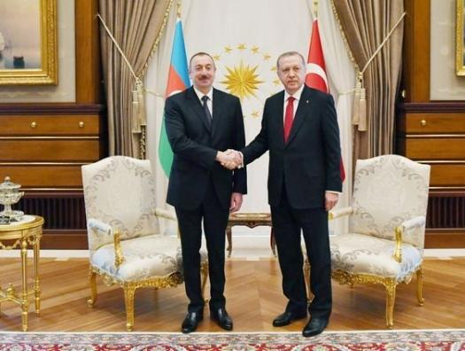 Ильхам Алиев поблагодарил Реджепа Тайипа Эрдогана