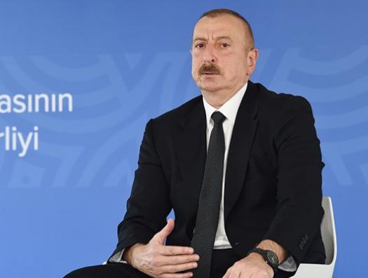 Ильхам Алиев: «Полицейские правильно сделали и вмешались»