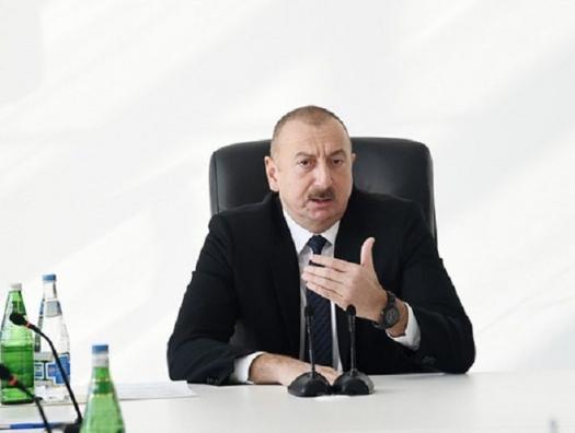 Ильхам Алиев не знает, когда закончится карантин