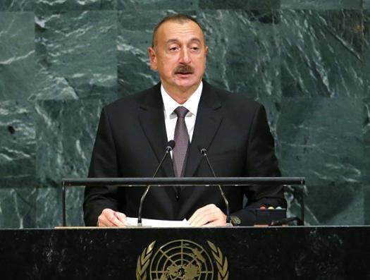 По инициативе Ильхама Алиева созвана Генассамблея ООН